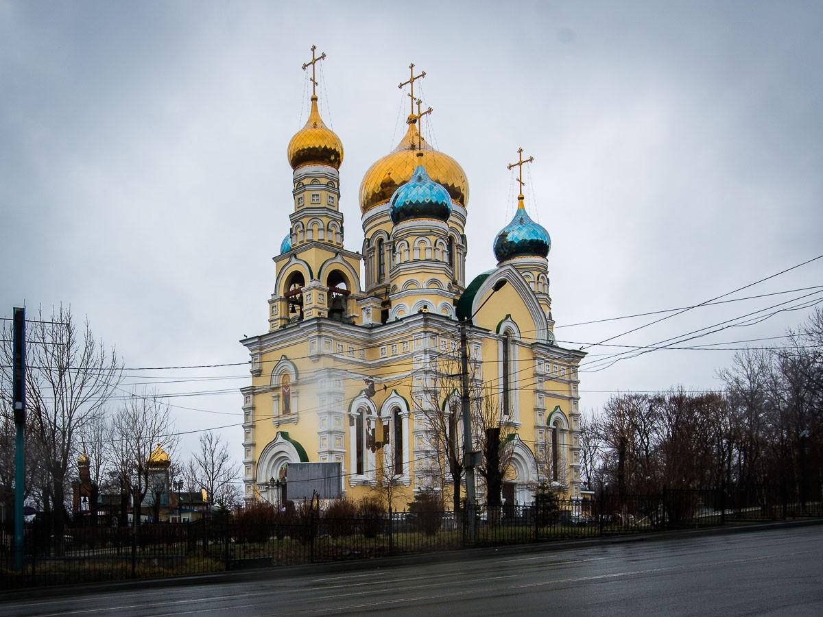 Фотография красивого собора владивосток