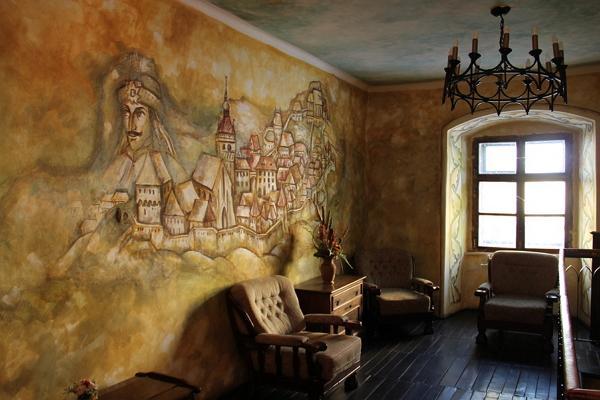 Сигишоара и дом Дракулы фото